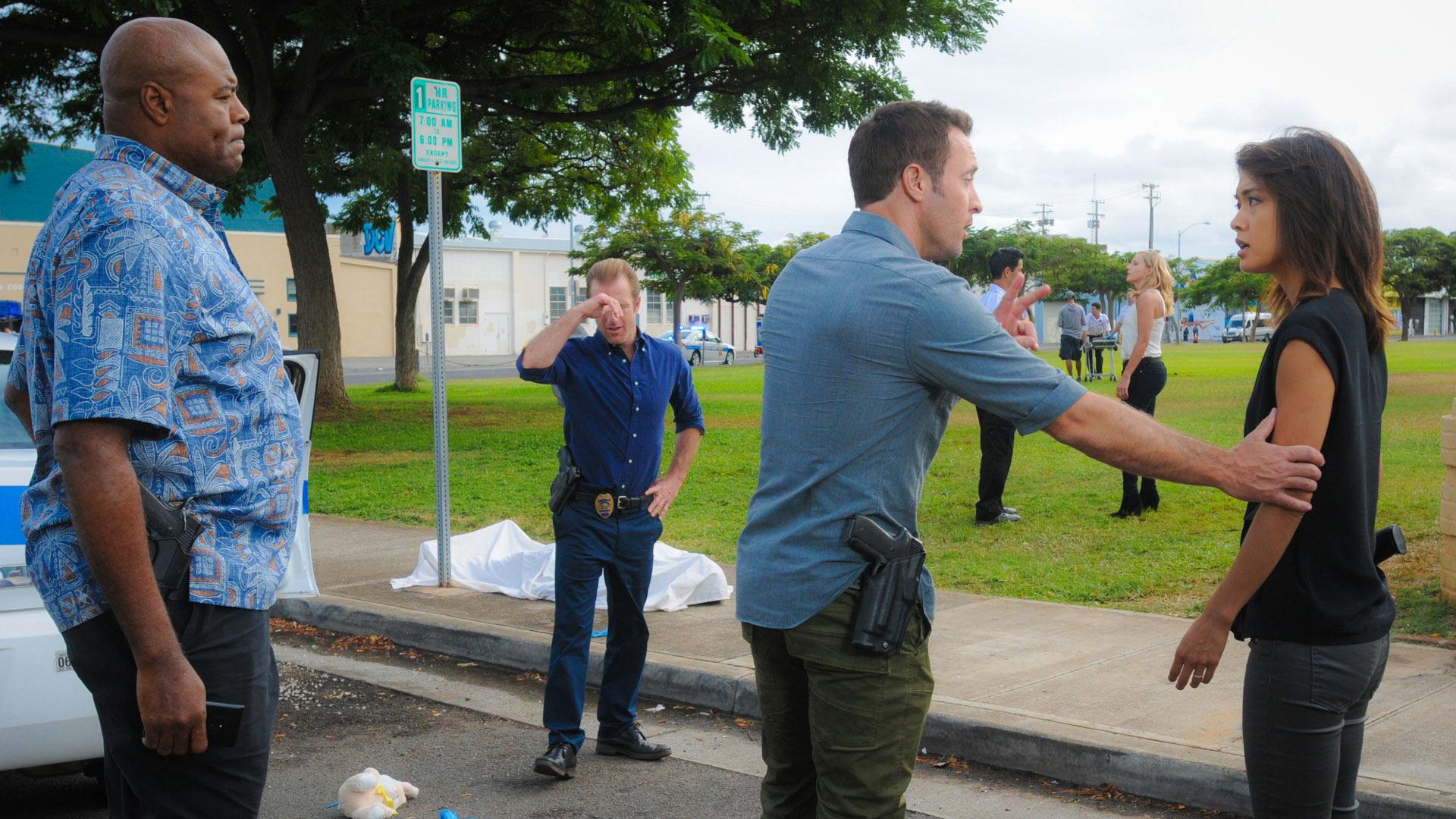 Hawaii Five-0 follows a puzzling murder case.