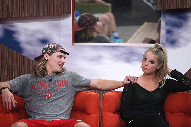 Hayden and Nicole (Big Brother 16)
