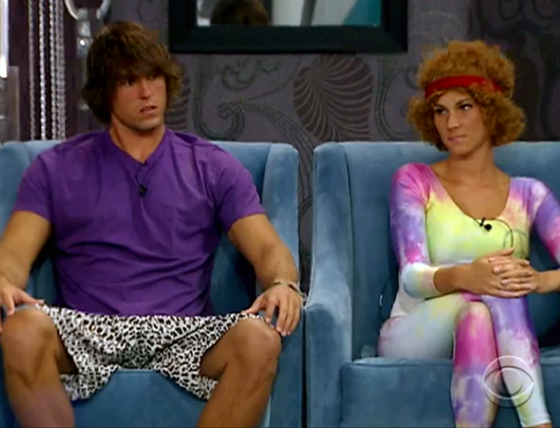 Hayden and Kristen (Big Brother 12)