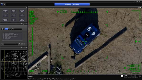 A digital map shows the location of this car in question.