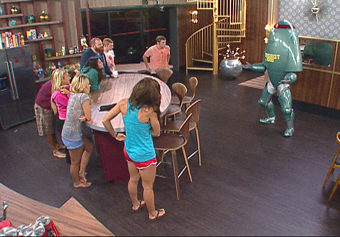Zingbot Visits the Houseguests