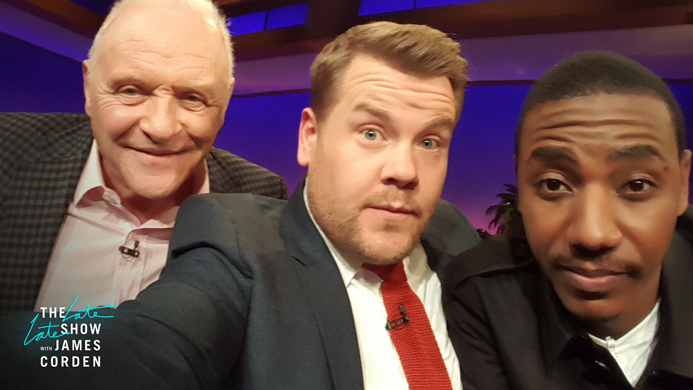 Anthony Hopkins and Jerrod Carmichael