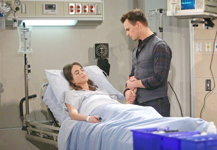 Wyatt sits vigil at Ivy's bedside and confesses his true feelings to her.