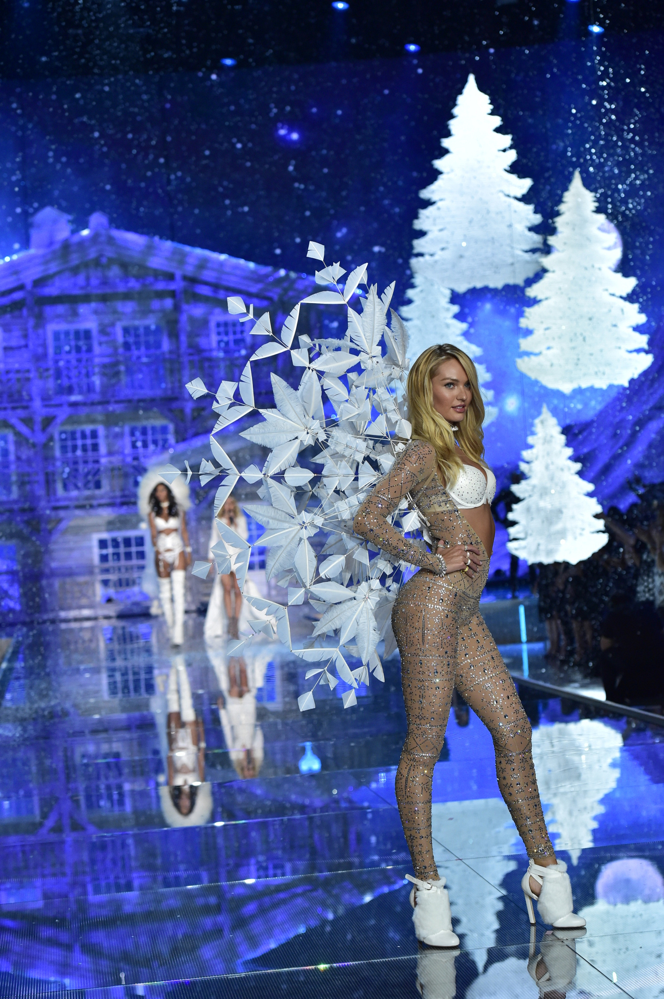 The fifth segment is Ice Angels