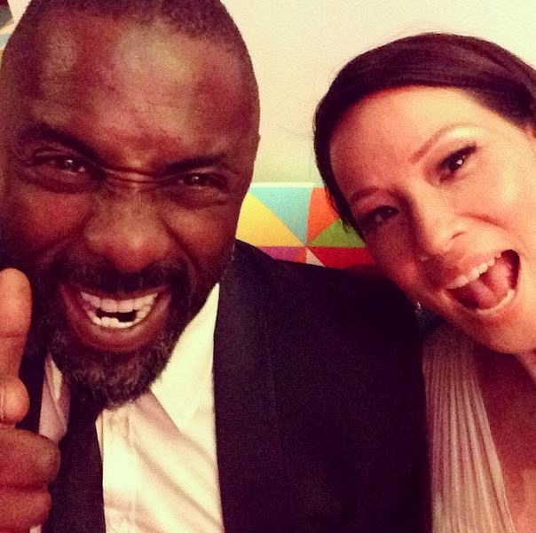 Lucy Liu and Idris Elba.