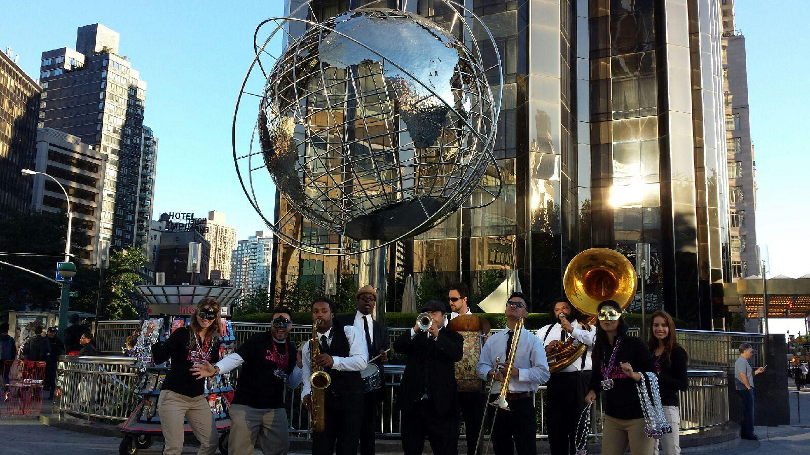 NCIS New Orleans Jazz Band in NYC
