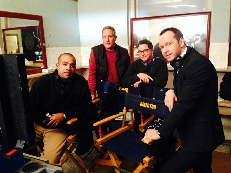 Donnie and the Blue Bloods Crew