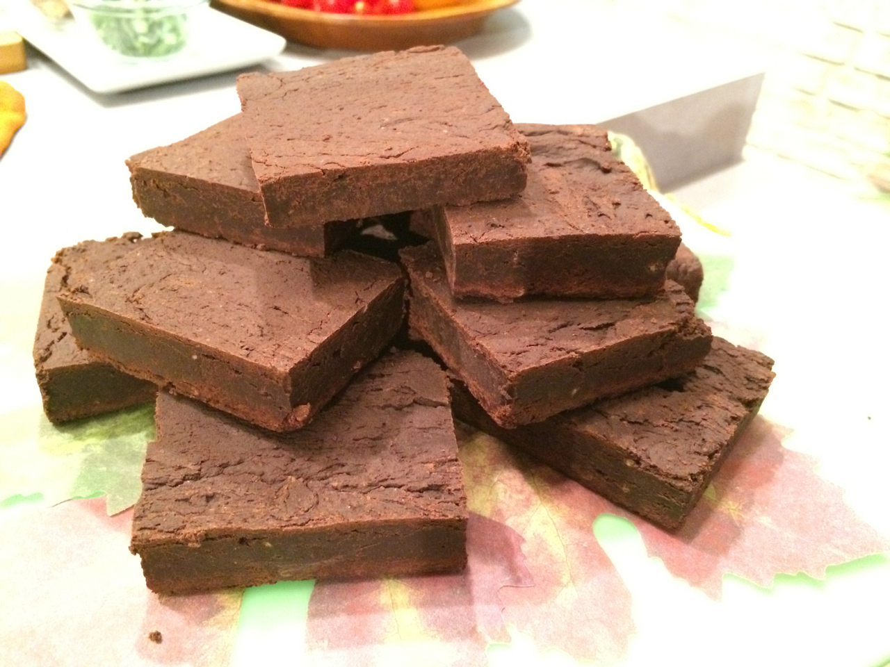 Black Bean Gluten-Free Brownie