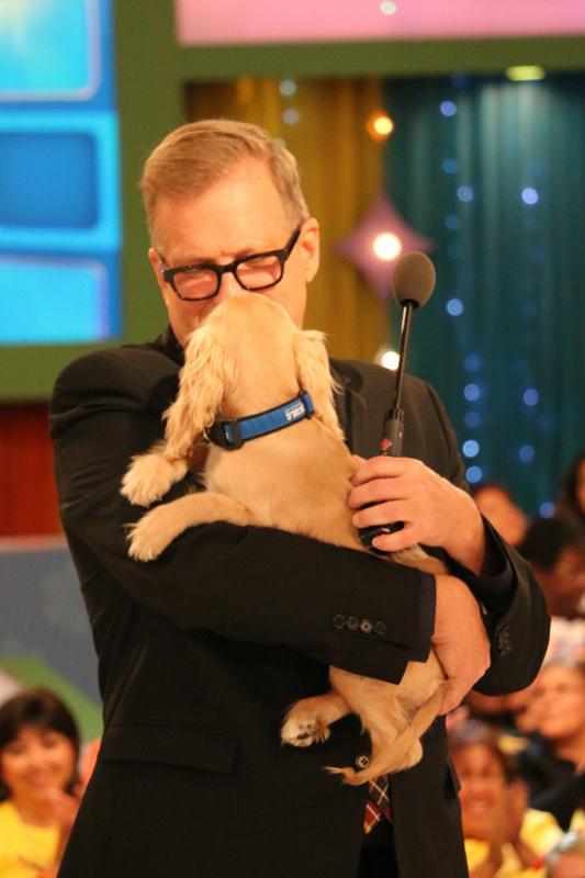 12. He loves a cute dog.