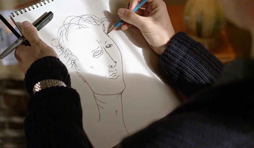 Matthew Gray Gubler The Artist - Criminal Minds