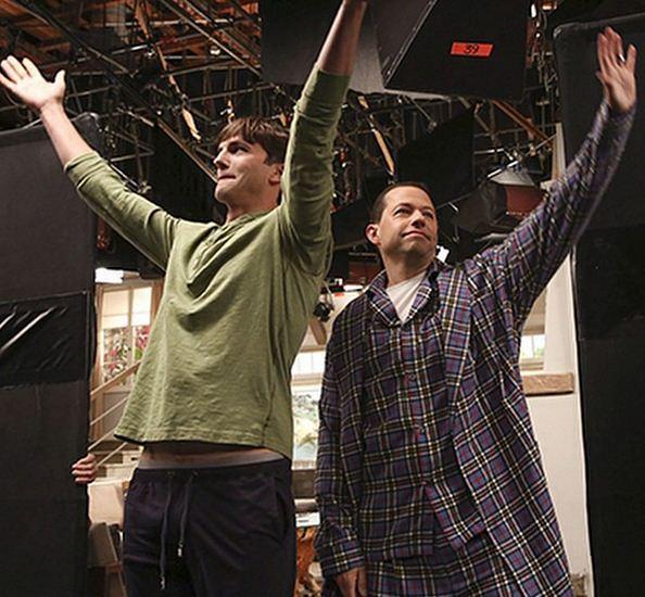 Two and a Half Men - Ashton and Jon
