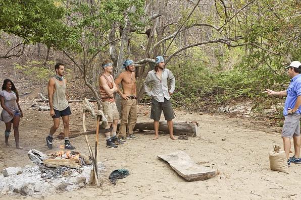 Survivor Instagram - Jeff at camp