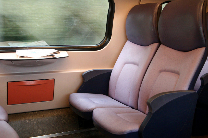 Sheldon's train seat