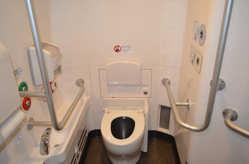 Here's the train toilet Sheldon didn't want to use