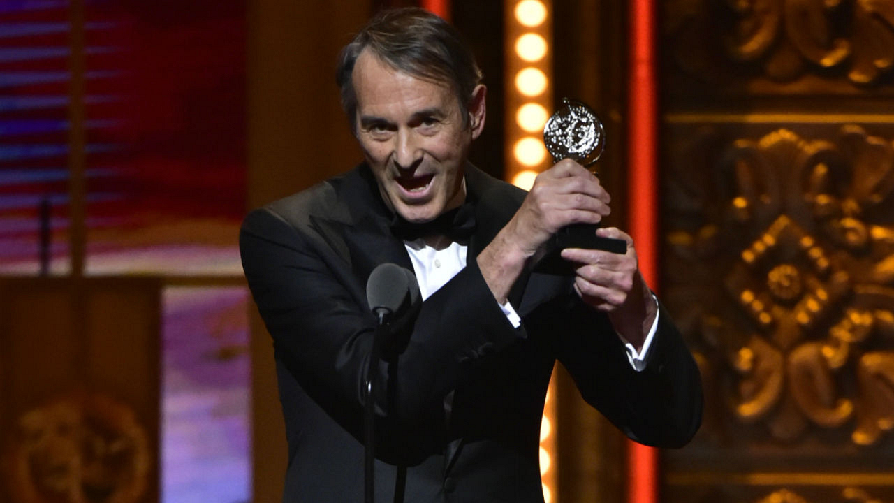 Ivo Van Hove wins the 2016 Tony Award for Best Direction of a Play.