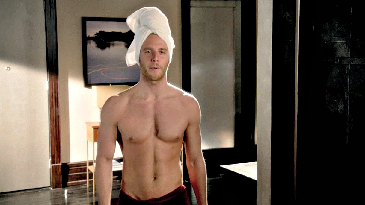 It's Jake McDorman, who plays Brian Finch on Limitless!