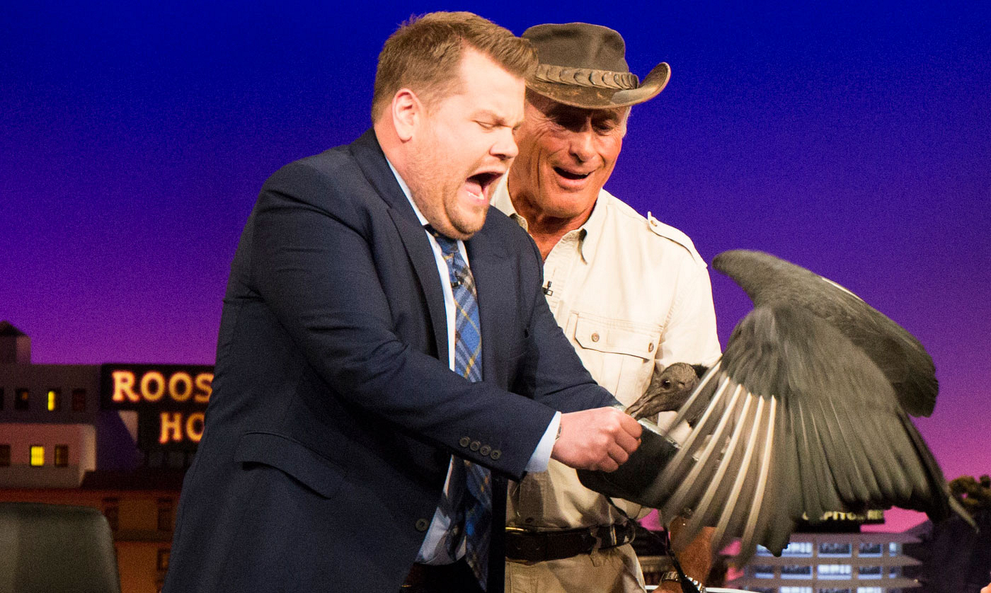 Through fear and pain, James still fed the vulture his own hand.