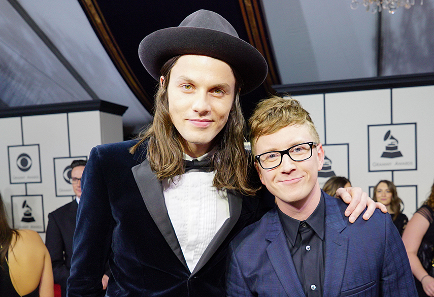 James Bay and Tyler Oakley