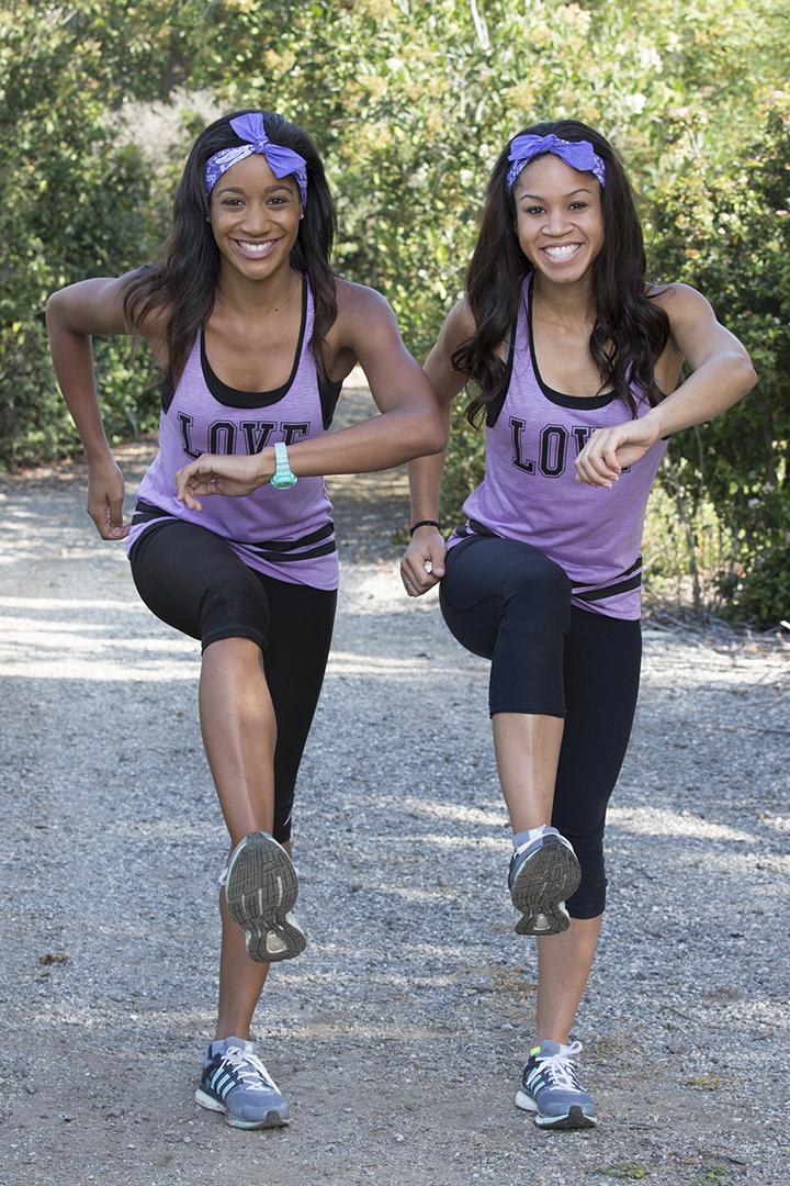 Jazmine and Danielle