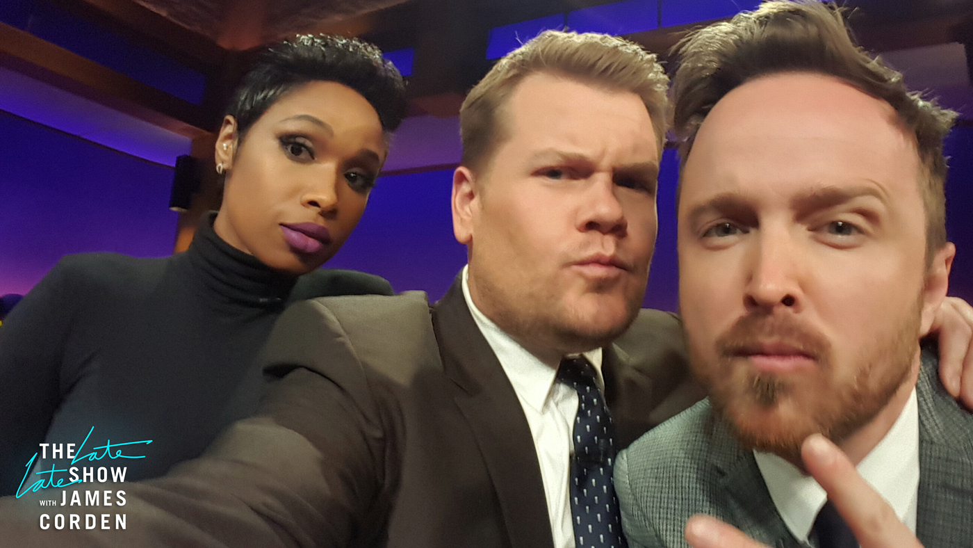 Jennifer Hudson and Aaron Paul