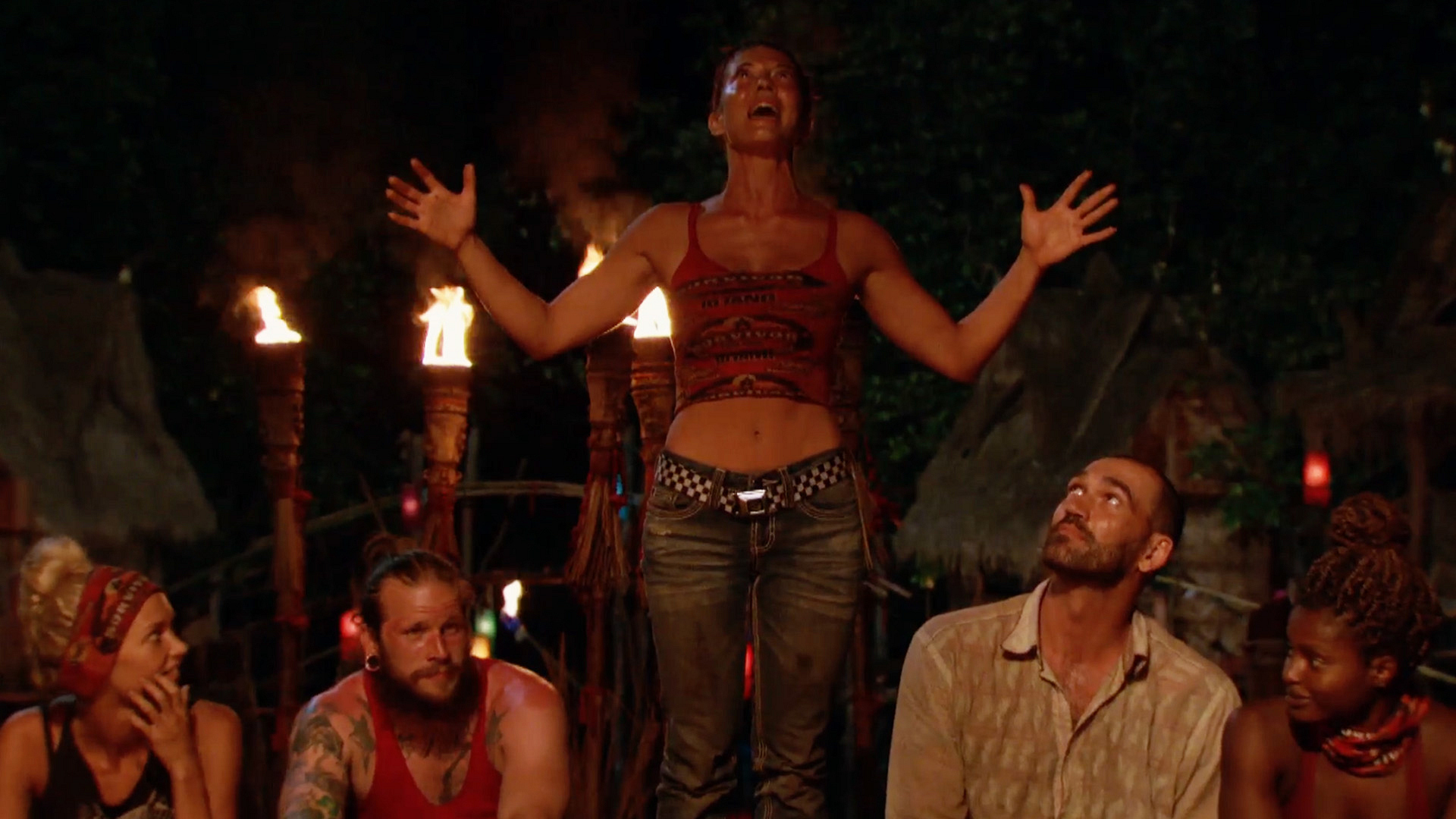 1. Take us back to Tribal Council. How blindsided were you to hear your name called?