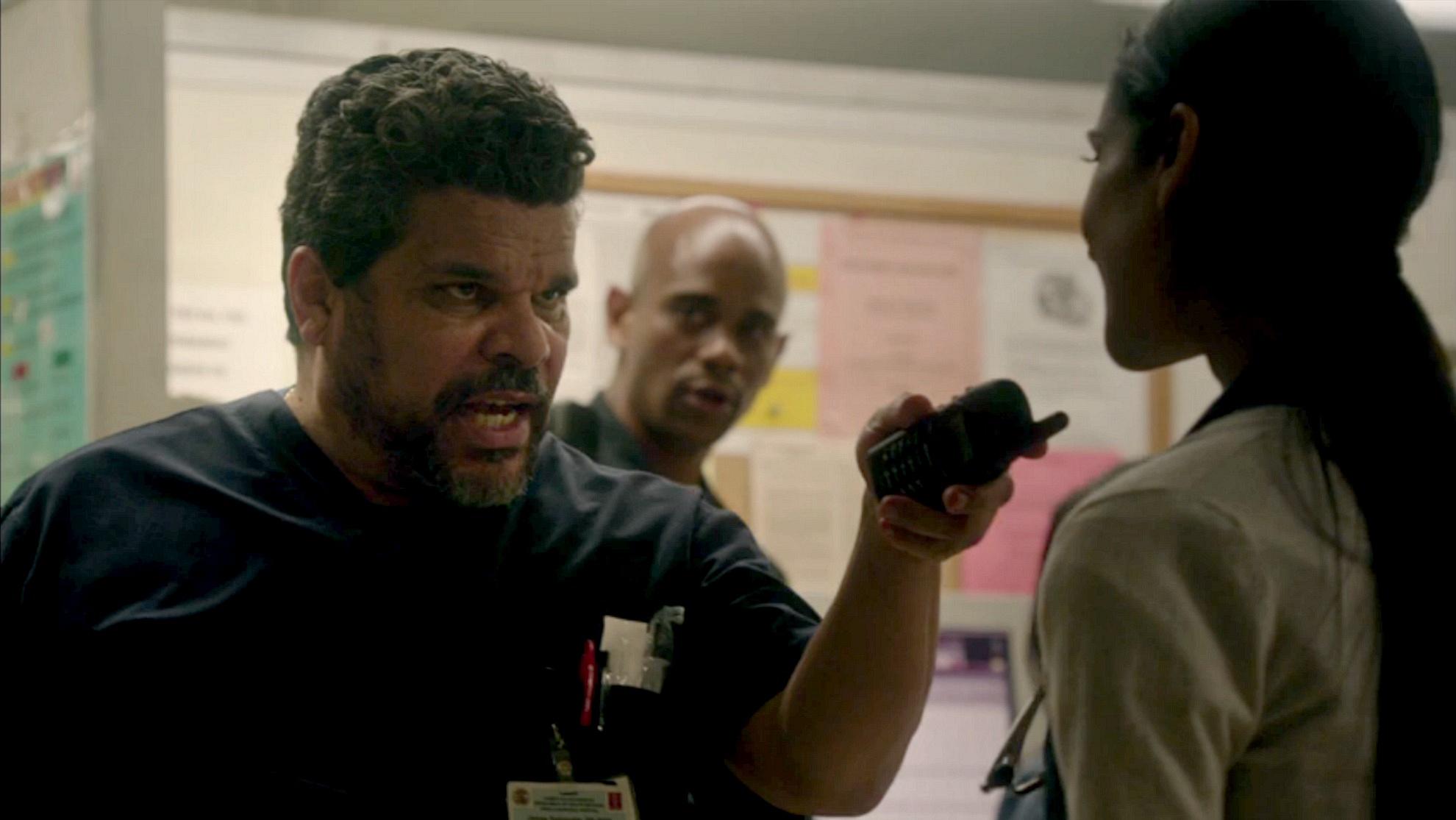 Nurse Jesse Sallander on Code Black