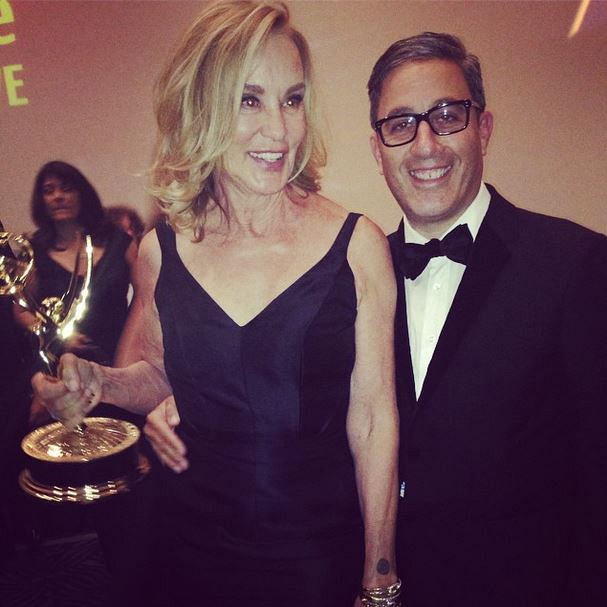 Woo! Congrats to Jessica Lange on her Win.