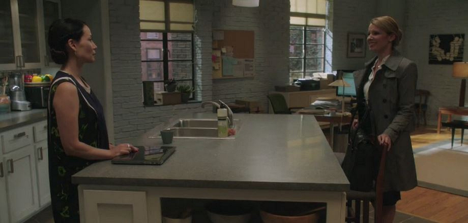 Here's a peek at Joan's new apartment.