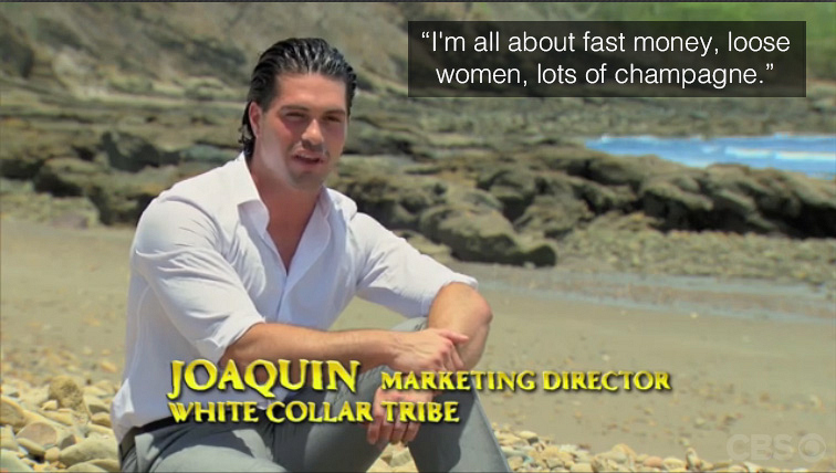 Joaquin shocks viewers with a bold statement.