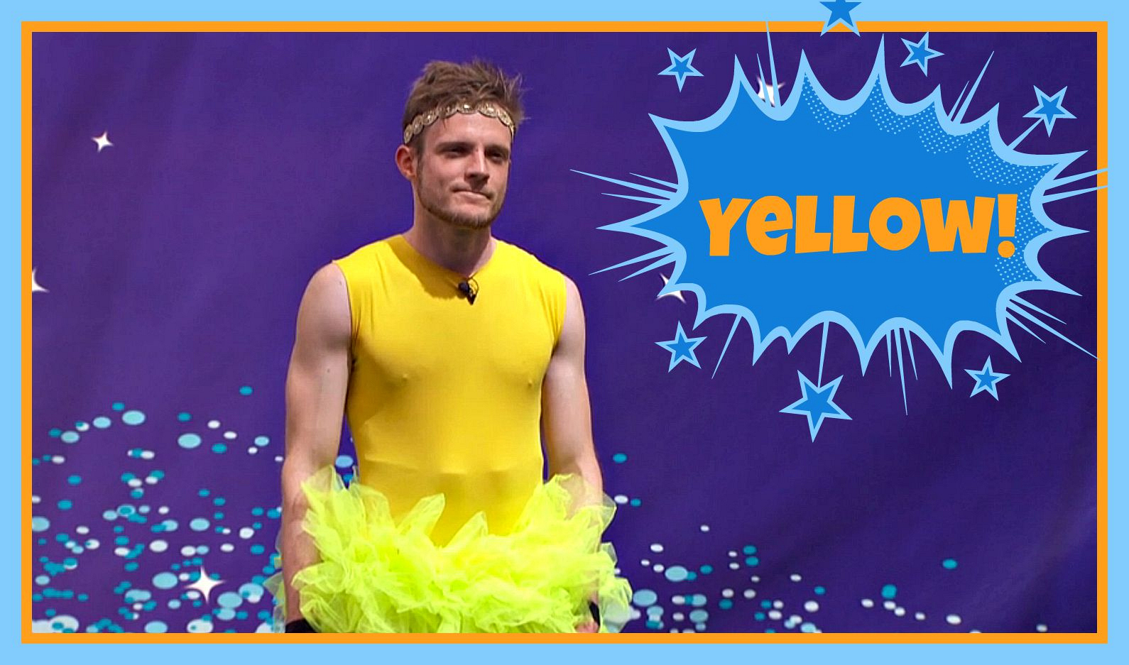 "Question: What color was Johnny Mac's tutu in this week's ""Bowlerina"" POV competition?"