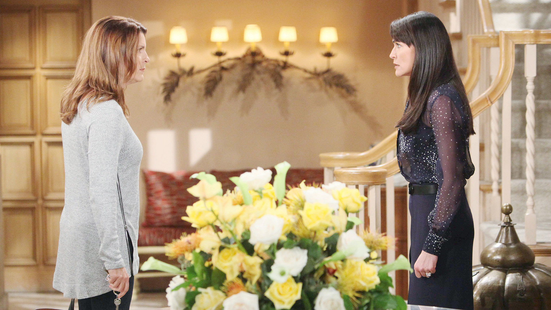 Sheila's favor for Eric puts her in an intense confrontational exchange with Quinn.