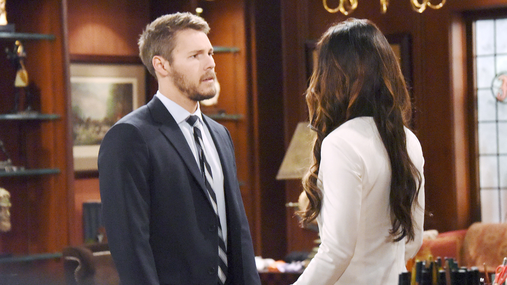 Steffy and Liam disagree on Bill's deviant lie as well as how it should be handled.
