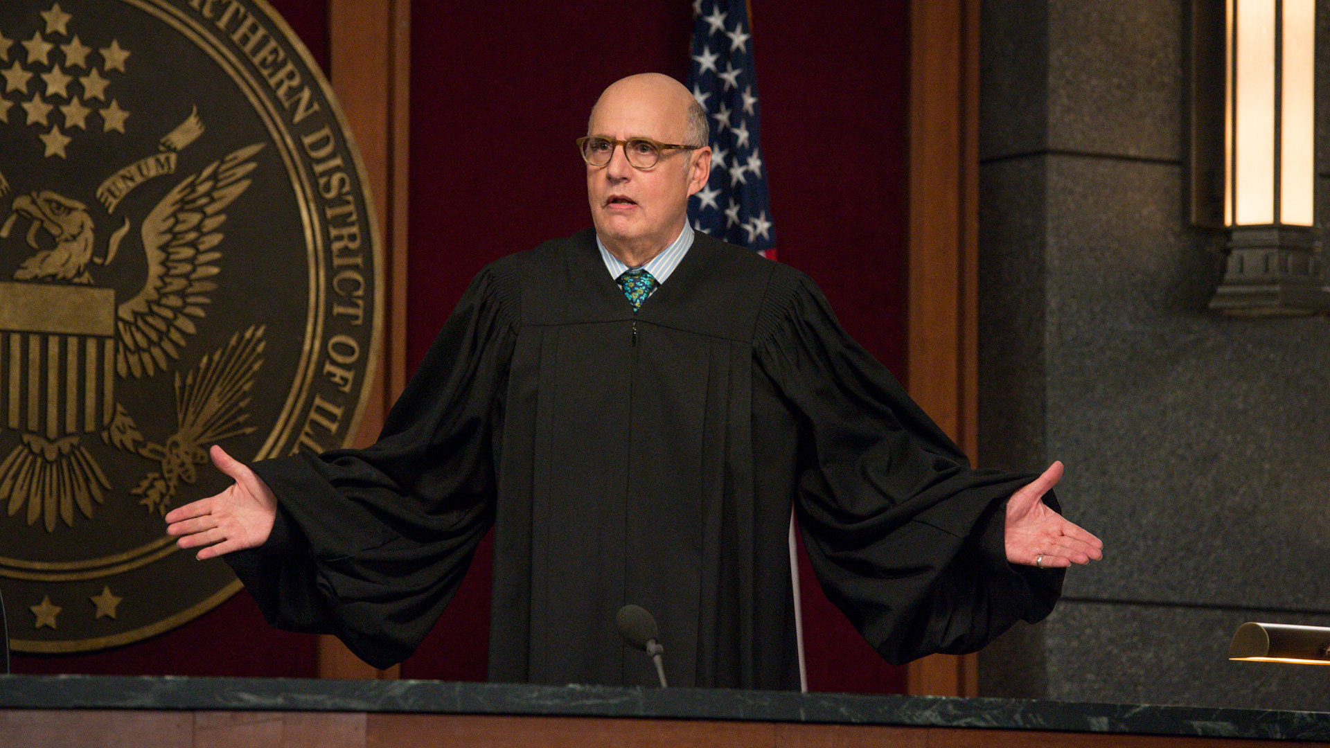 Judge George Kluger (Jeffrey Tambor)
