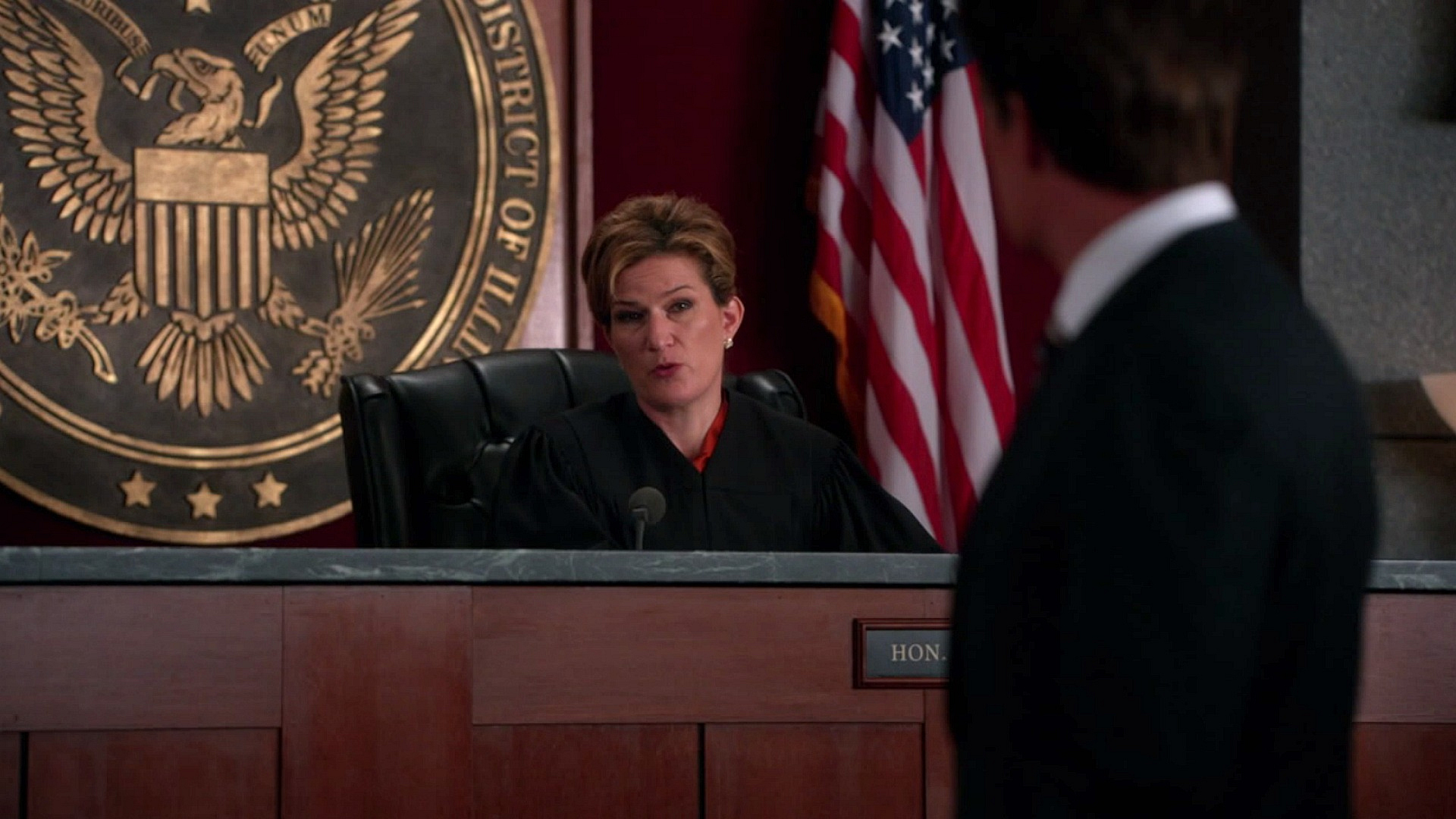 Judge Patrice Lessner (Ana Gasteyer)