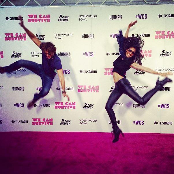 NCISLA Instagram: Backstage shenanigans with @ericcolsen and @danielaruah at #wcs cbs radio concert!