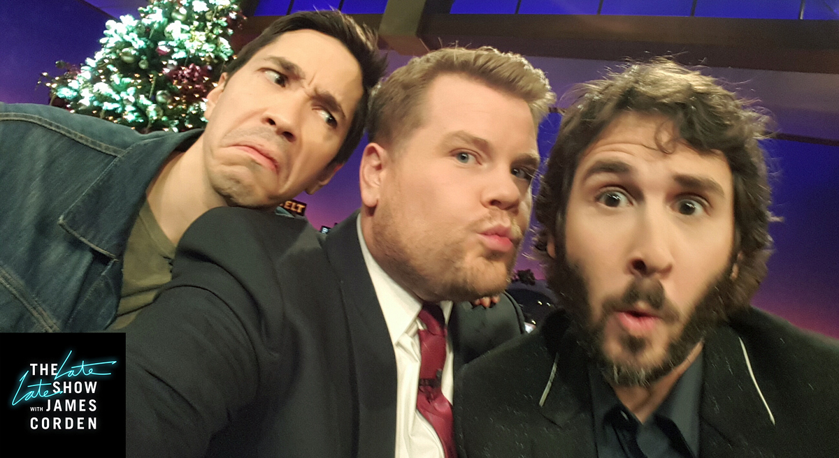Justin Long and Josh Groban