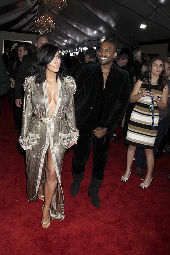 Kanye West Smiled