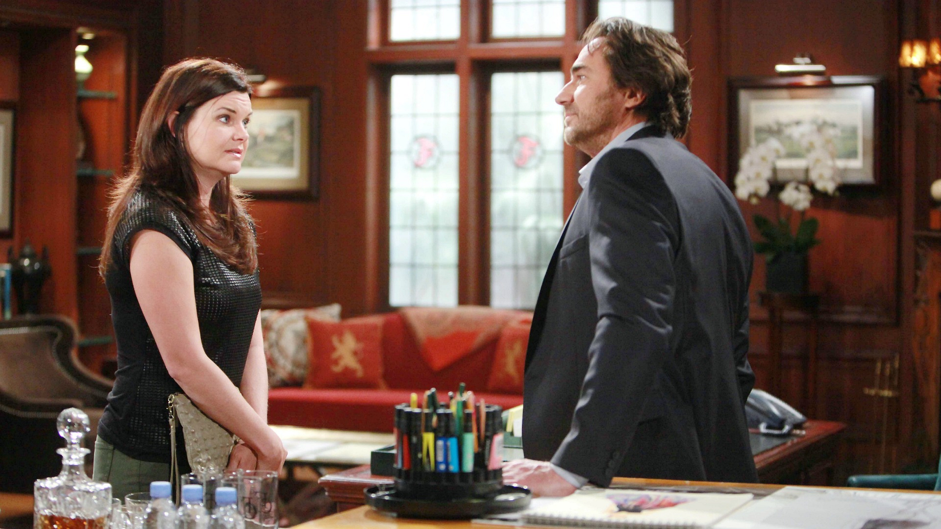 Katie forces the truth out of Ridge.