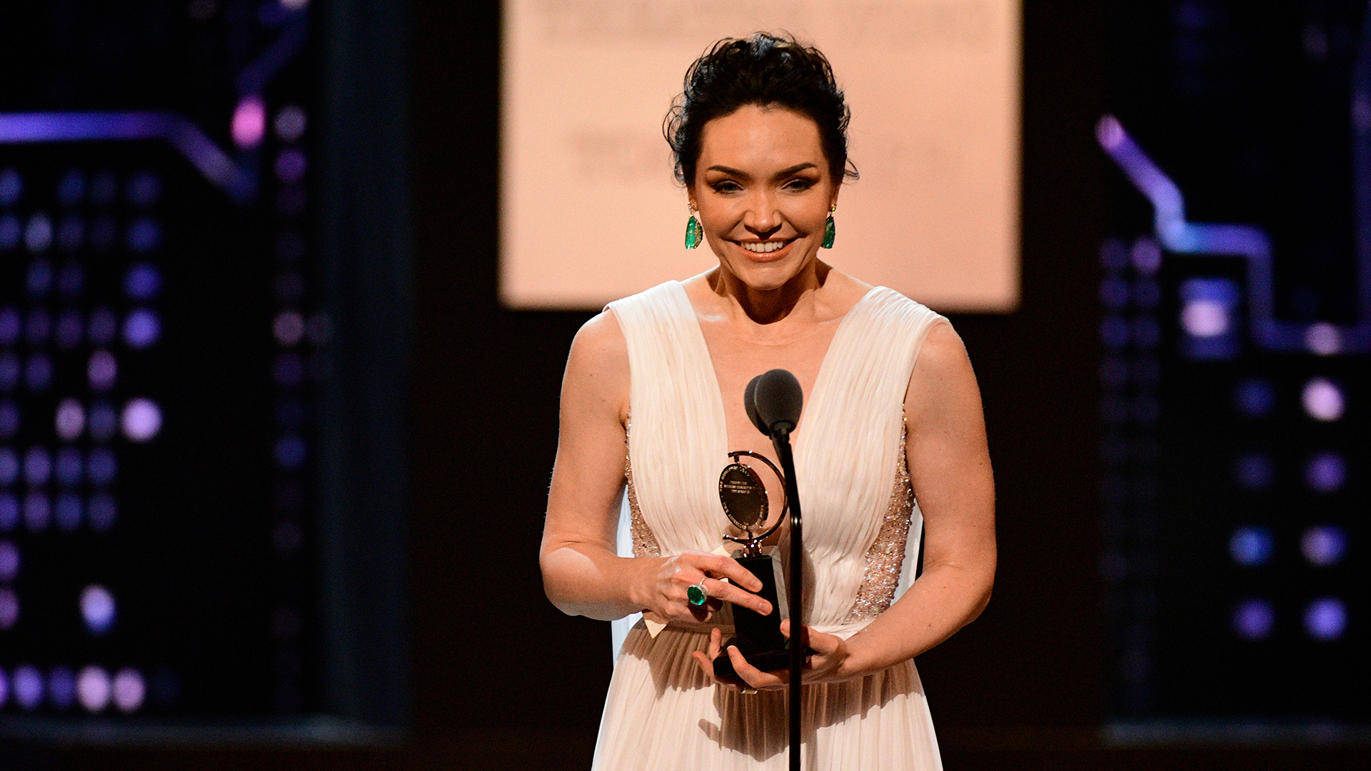 Katrina Lenk wins Best Leading Actress in a Musical at the 2018 Tony Awards