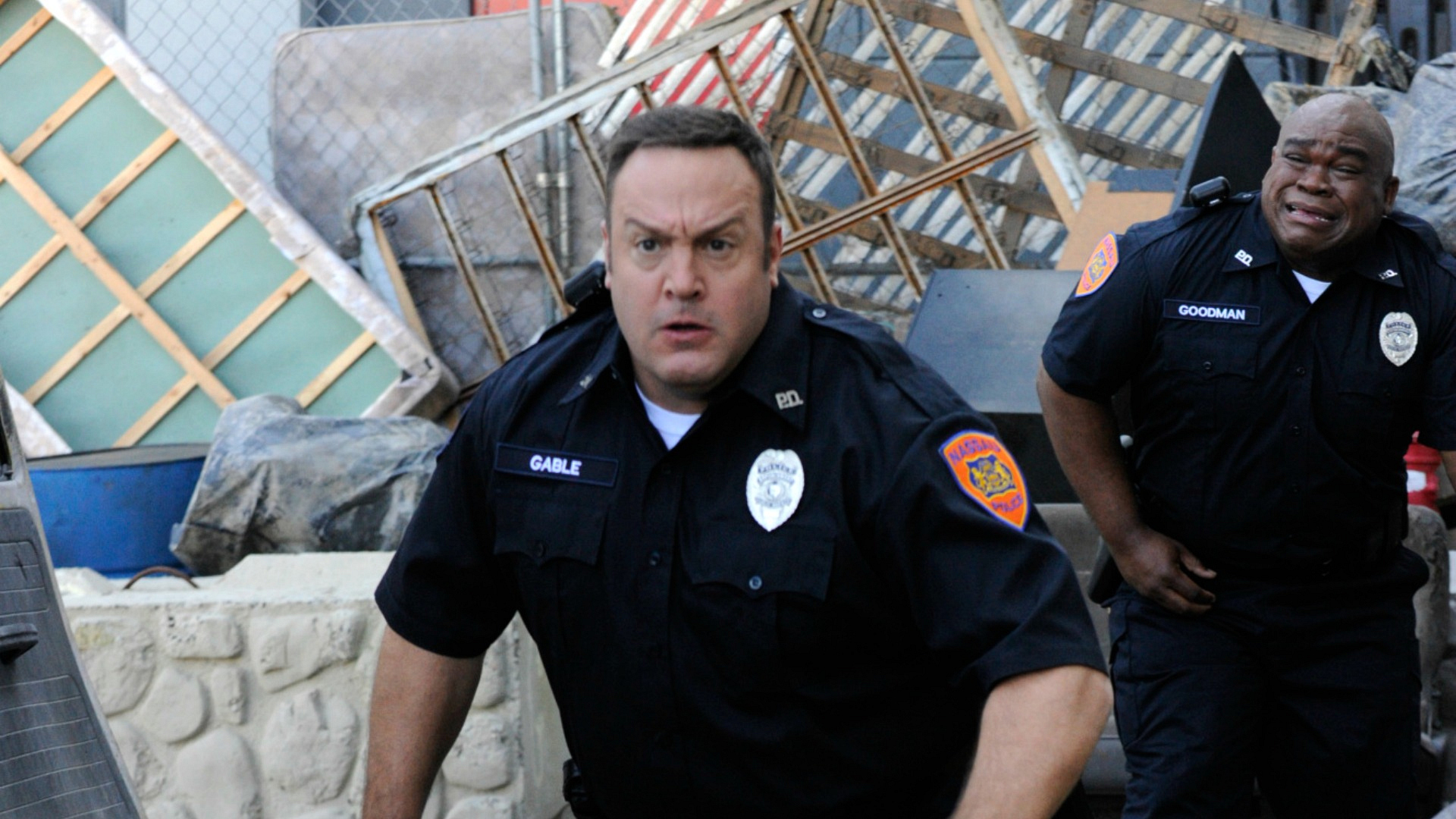 Kevin flashes back to his time on the force.