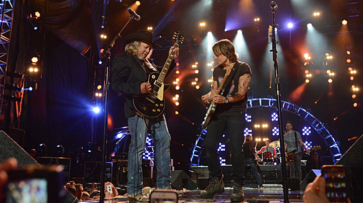 Keith Urban and John Anderson
