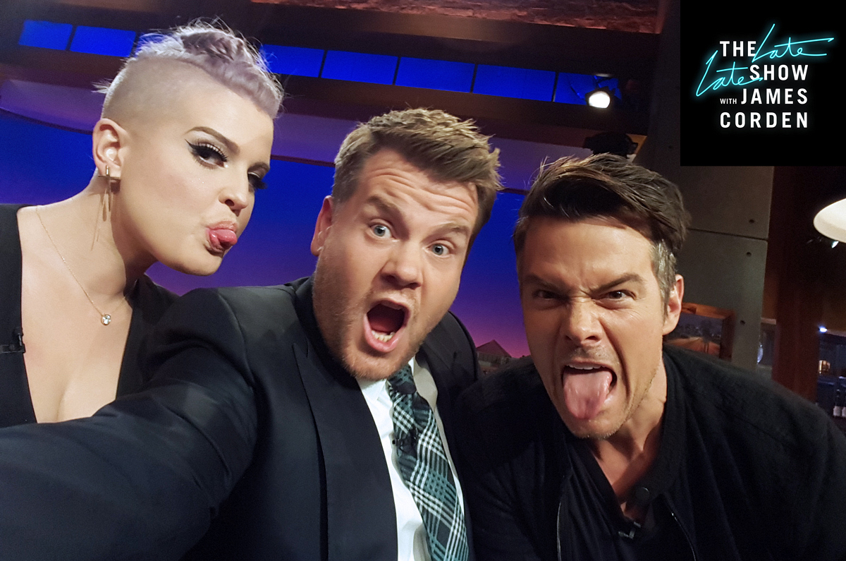 Kelly Osbourne and Josh Duhamel