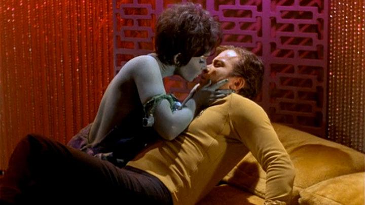 2. Captain Kirk on Star Trek: The Original Series