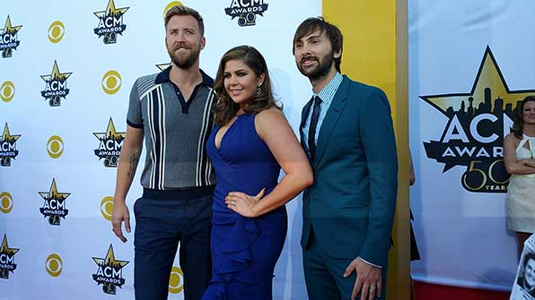 21, 22, & 23. Charles Kelley, Hillary Scott, and Dave Haywood