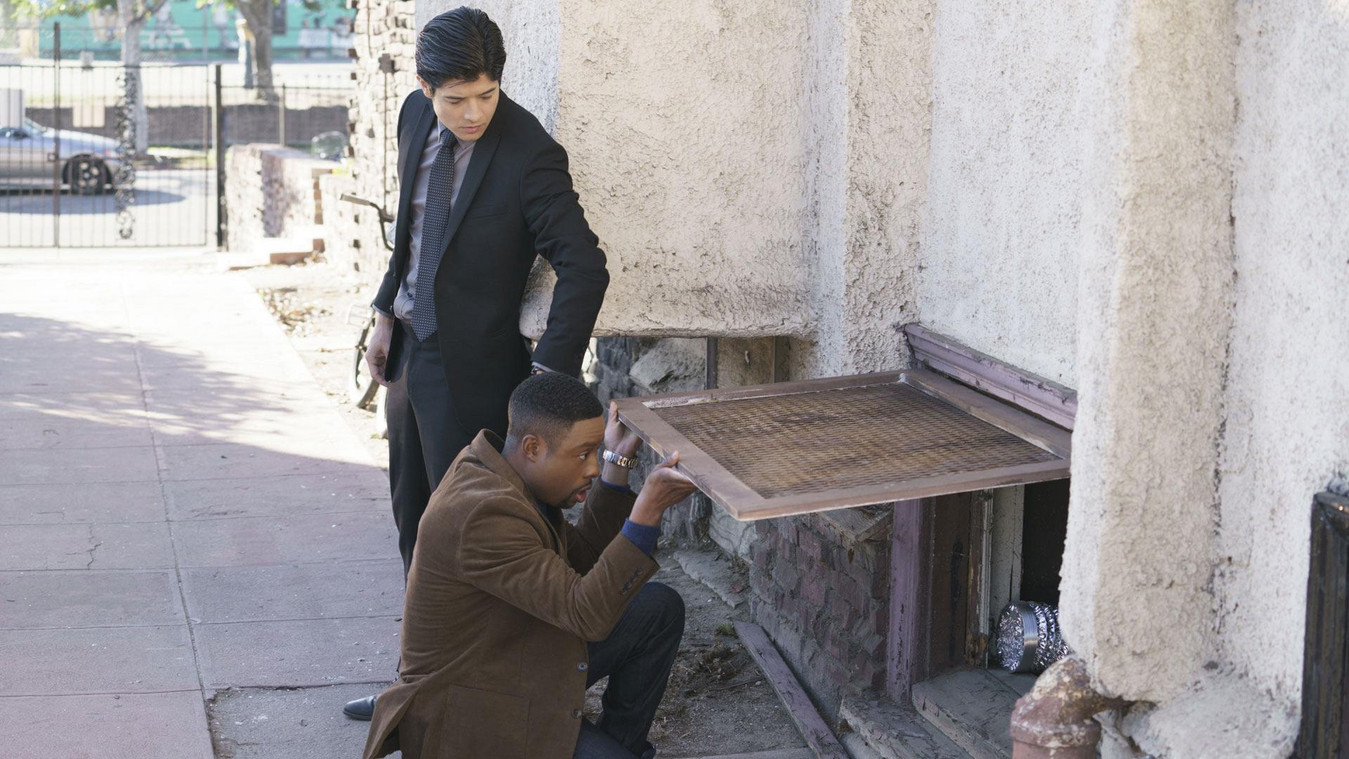 The detectives discovered a drug cartel.