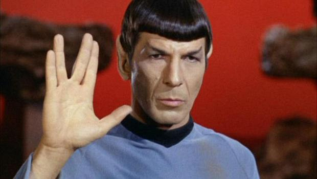2. When he told us to live long and prosper