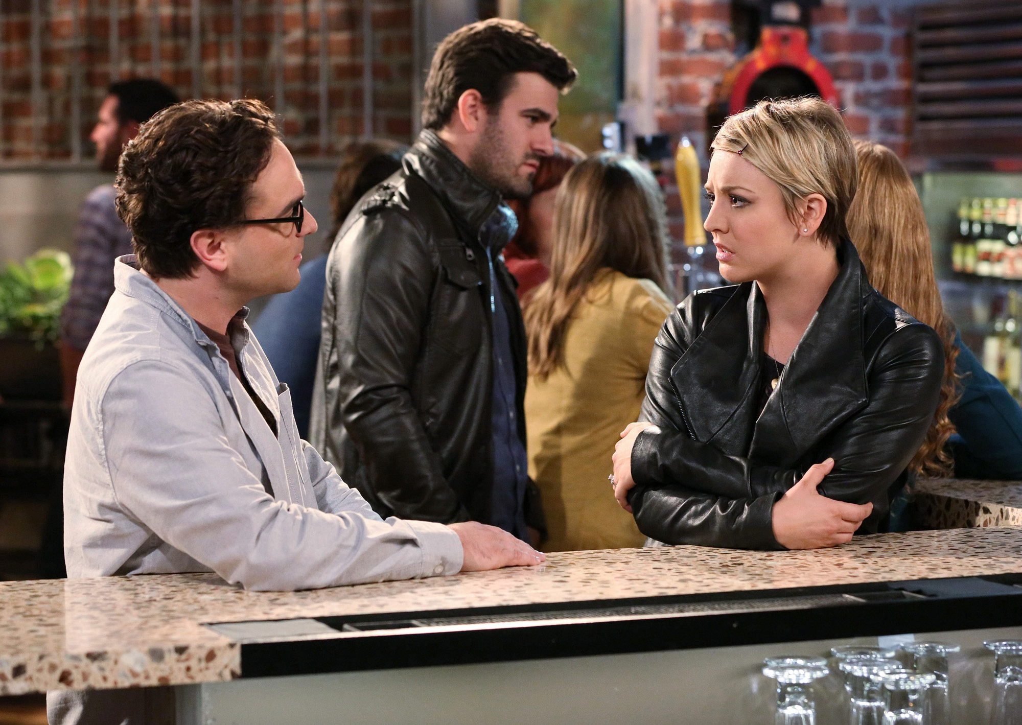 Nice - Leonard Hofstadter and Penny from The Big Bang Theory