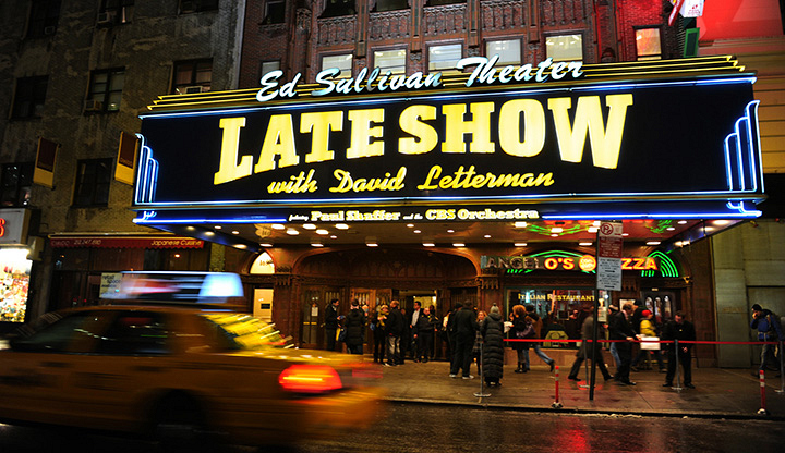 David Letterman inspired millions with The Late Show.