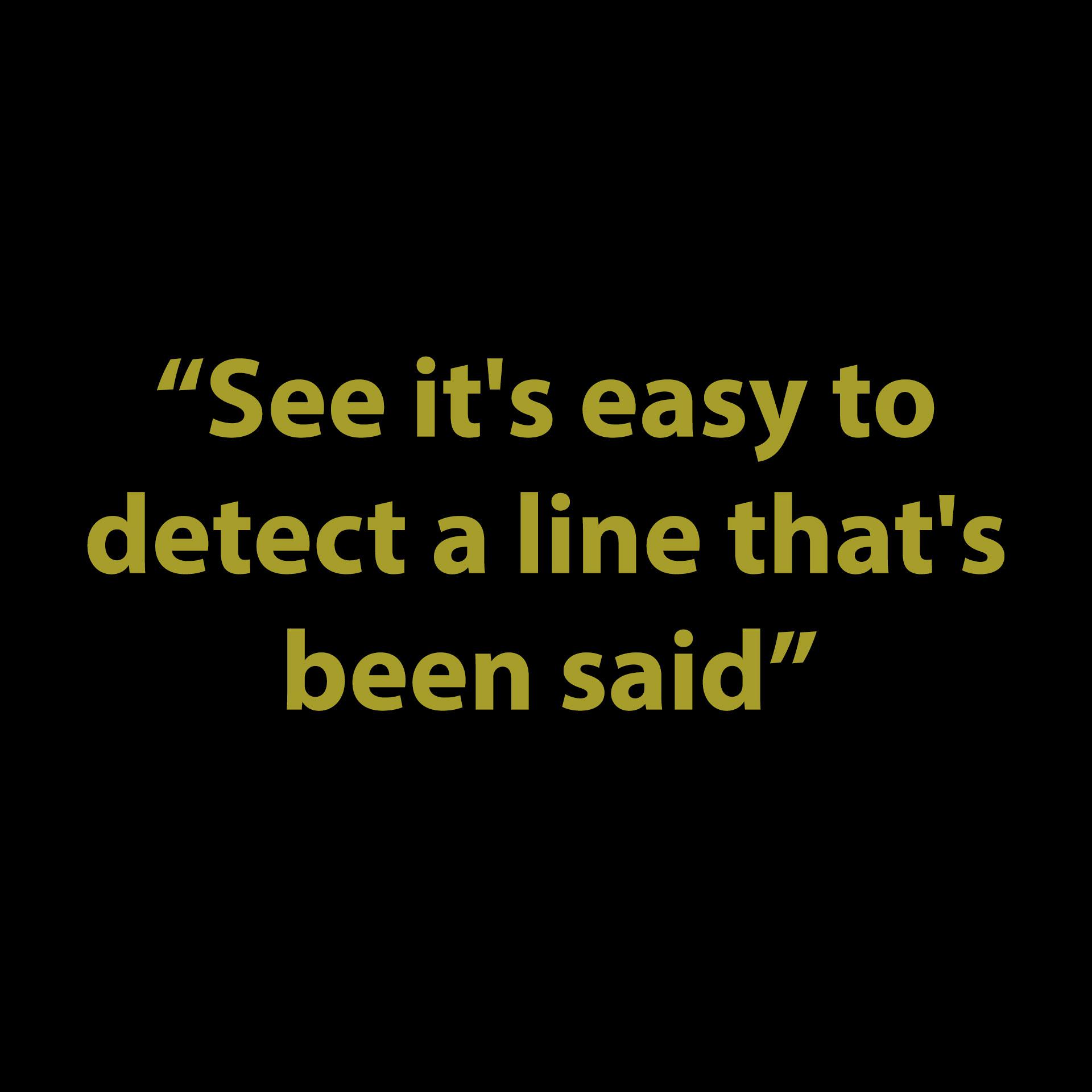 LYRIC OR LINE?
