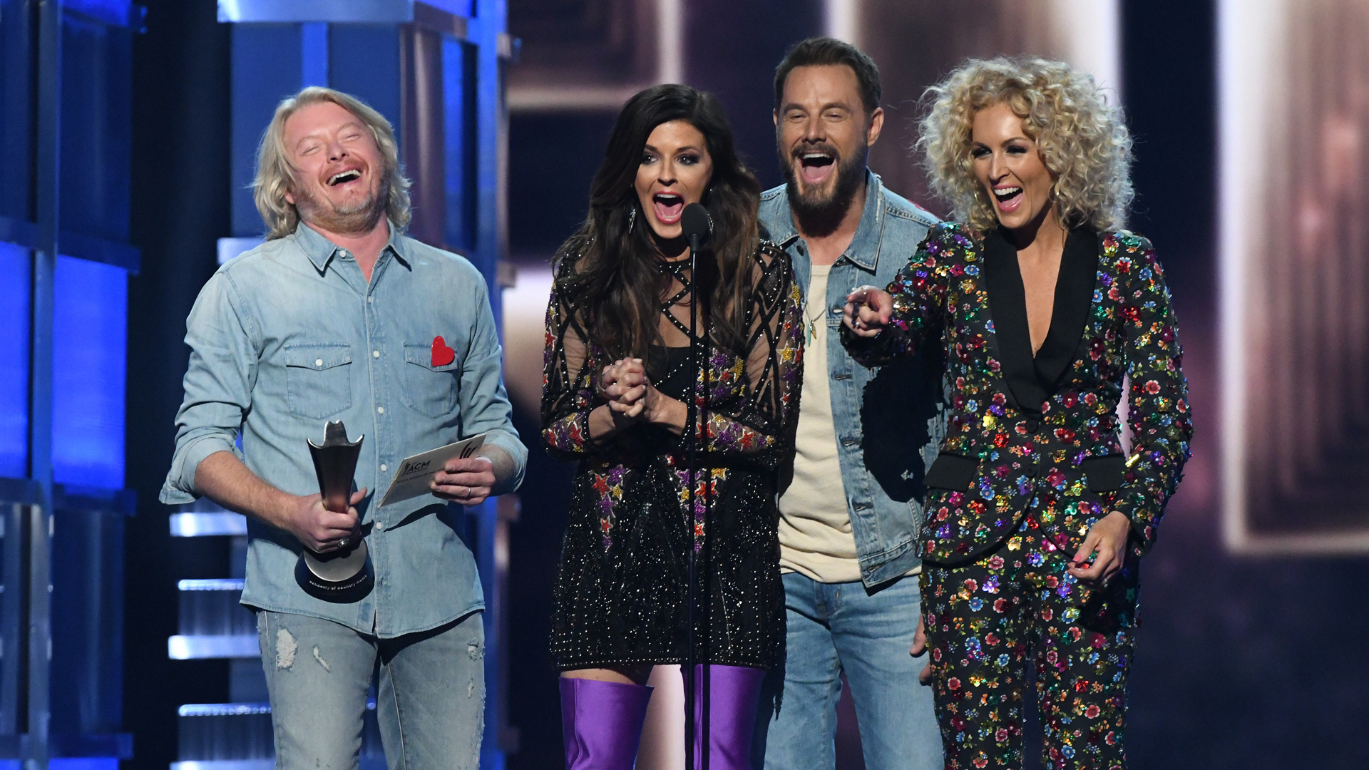 Little Big Town wins Vocal Group Of The Year at the 52nd ACM Awards